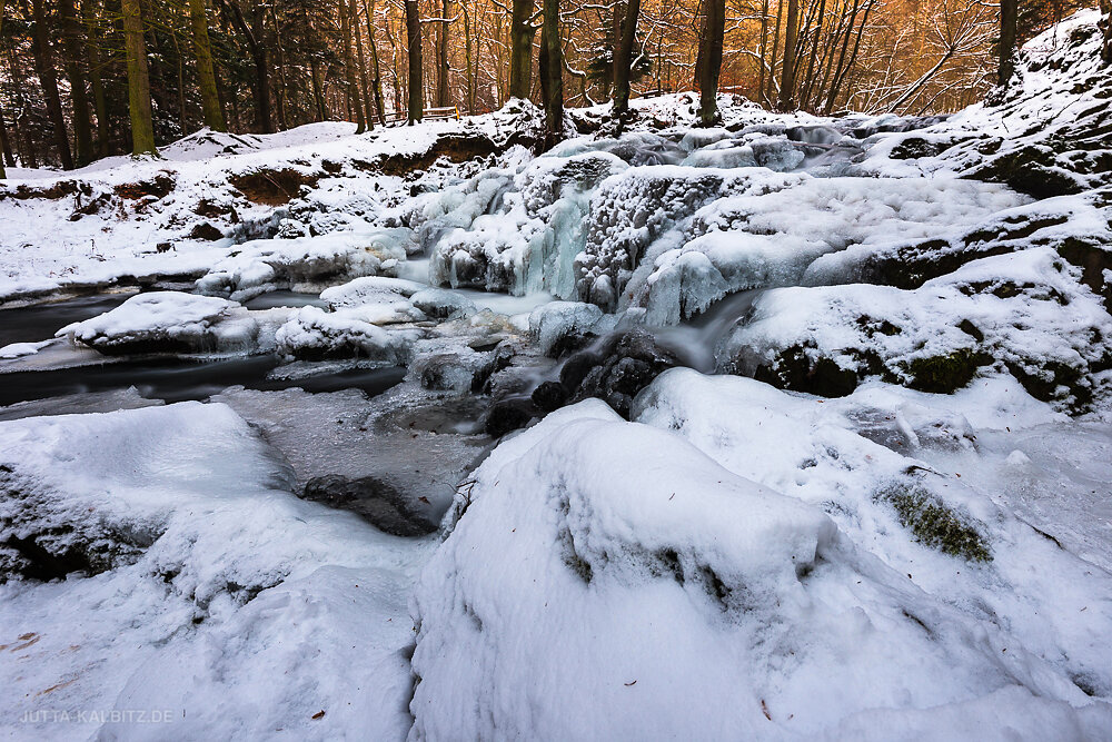 Winter an der Selke - Harz