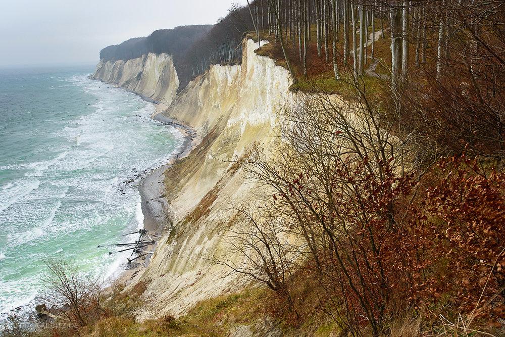 Dezember an der Kreideküste - Rügen